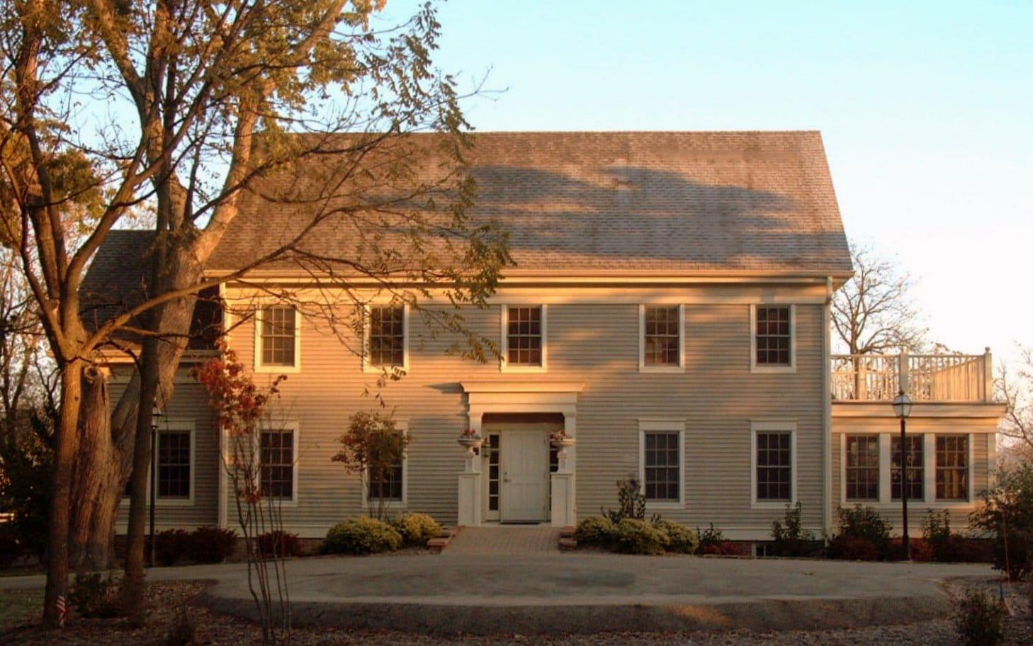Greek Revival Farmhouse Architecture